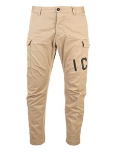 Dsquared2 - Icon cargo pants in beige