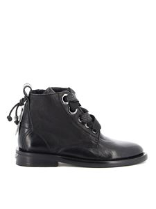 Zadig & Voltaire - Laureen Roma leather ankle boots in black