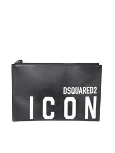 Dsquared2 - Icon clutch in black