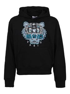 Kenzo - Tiger cotton hoodie in black