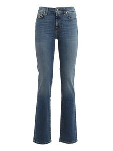 7 For All Mankind - Jeans The Straight blu