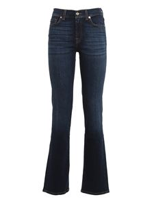7 For All Mankind - Jeans The Straight blu scuro