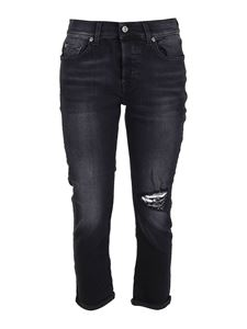 7 For All Mankind - Jenans in denim Asher Soho neri