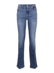 7 For All Mankind - Soho bootcut jeans in blue