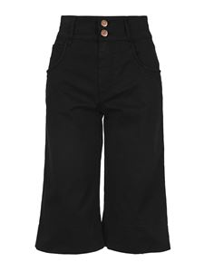See by Chloé - High waist bermuda shorts in black