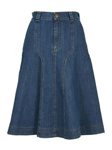 See by Chloé - Denim skirt in blue