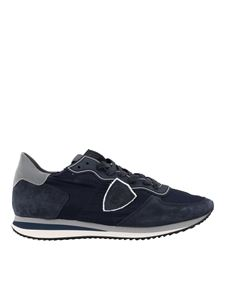 Philippe Model - Tropez X blue sneakers
