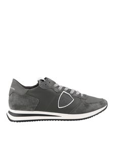 Philippe Model - Tropez X grey sneakers