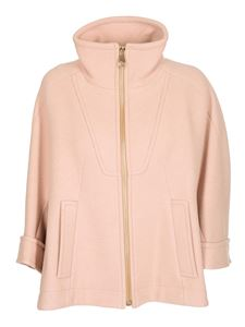 Chloé - Cappotto corto color Biscuit Pink