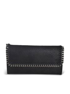 Stella McCartney - Falabella Continental wallet in black