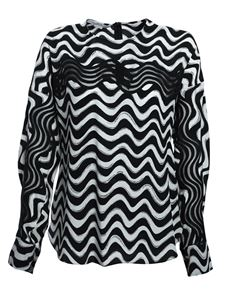 Stella McCartney - Amaya black and white blouse