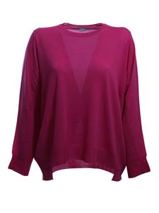 Stella McCartney - Virgin wool pullover in fuchsia