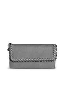 Stella McCartney - Falabella Continental wallet in grey