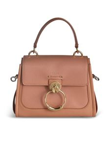 Chloé - Borsa Mini Tess color Muted Borwn
