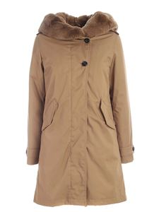Woolrich - Thermore Literary Rex down jacket in camel color