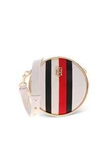 Tommy Hilfiger - Logo shoulder bag in white