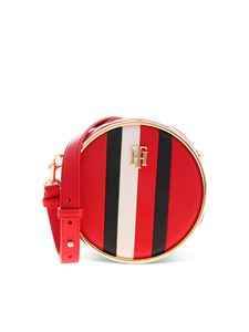 Tommy Hilfiger - Logo shoulder bag in red