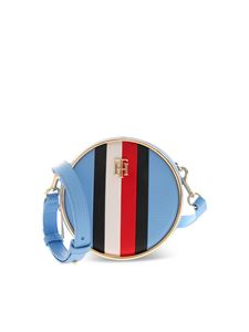 Tommy Hilfiger - Logo shoulder bag in light blue