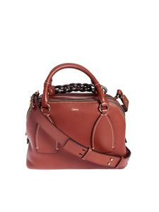 Chloé - Borsa Daria Medium color Sepia Brown