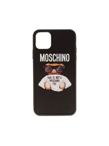 Moschino - Teddy cover for iPhone XI Pro Max in black
