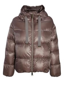 Herno - Quilted down jacket in lilac