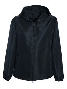 Valentino - Jacket with sequin VLogo in black