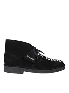Palm Angels - Black suede desert boots