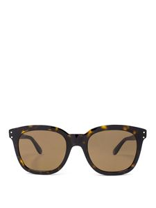Gucci - Havana brown squared sunglasses
