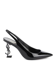 Saint Laurent - Opyum slingbacks in black