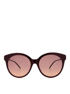 Gucci - Red sunglasses with metal details