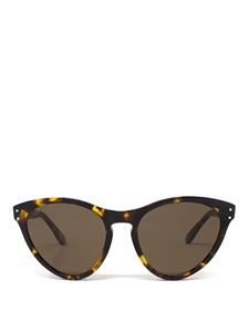 Gucci - Sunglasses with havana brown cat eye frame