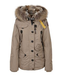 Parajumpers - Tech nylon puffer jacket in beige