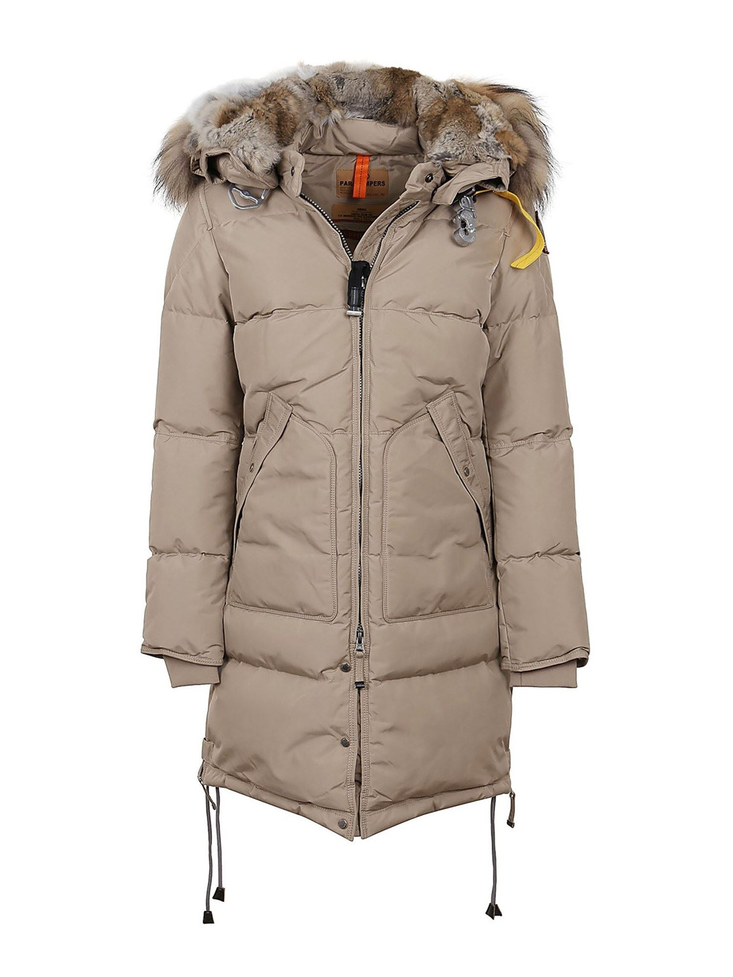 Parajumpers BEIGE COAT IN OXFORD NYLON