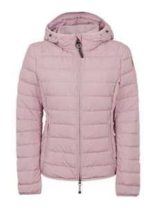 Parajumpers - Pink down jacket in technical fabric