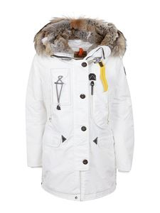 Parajumpers - White coat in technical nylon