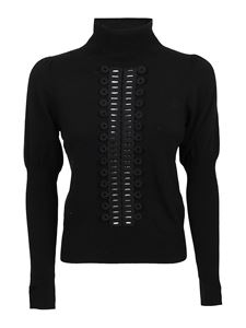 See by Chloé - High collar sweater in black
