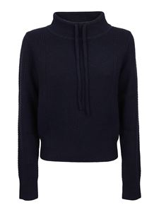 See by Chloé - Blue sweater with drawstring