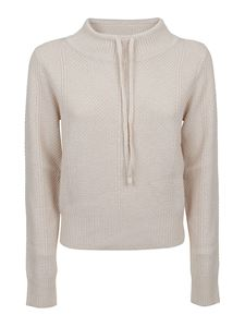 See by Chloé - Beige sweater with drawstring