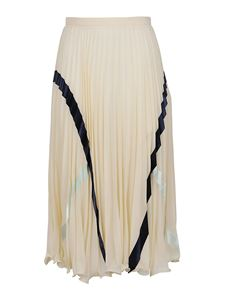 See by Chloé - Georgette skirt in beige