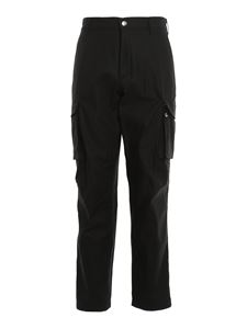 Givenchy - Black cotton cargo pants