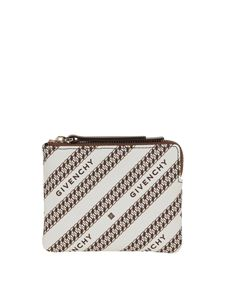 Givenchy - Bond beige coin purse