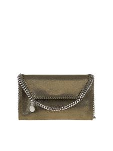 Stella McCartney - Falabella Mini crossbody bag in metallic color
