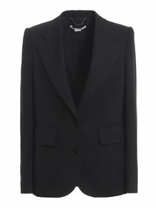 Stella McCartney - Briana stretch wool blazer in black