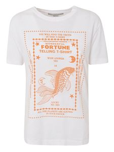 Stella McCartney - Wonderful Fortune print T-shirt in white