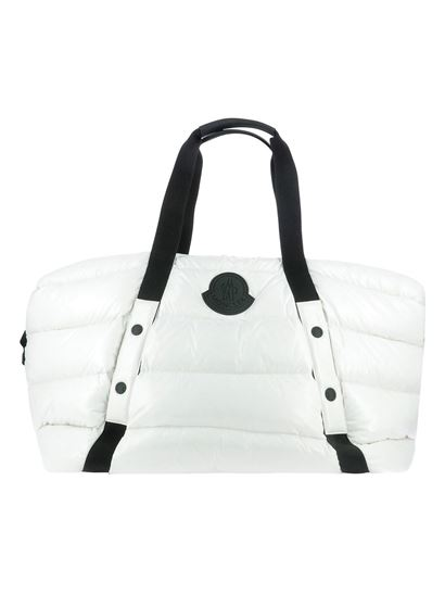 Moncler - Maine duffle bag in white