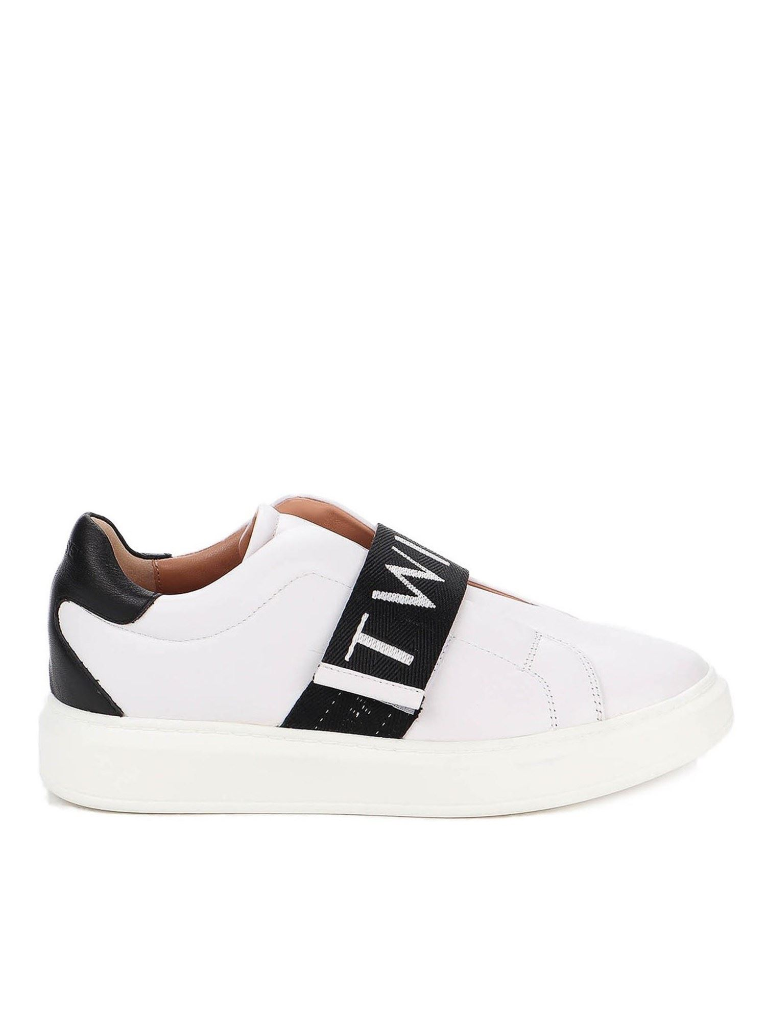 Twinset LOGO BAND SNEAKERS IN WHITE