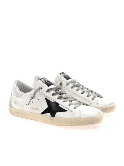 superstar classic white sneakers