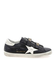 Golden Goose - Old School black sneakers with white star