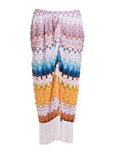 Missoni - Front vent long skirt multicolor