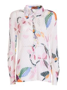 Missoni - Floral printed shirt in white